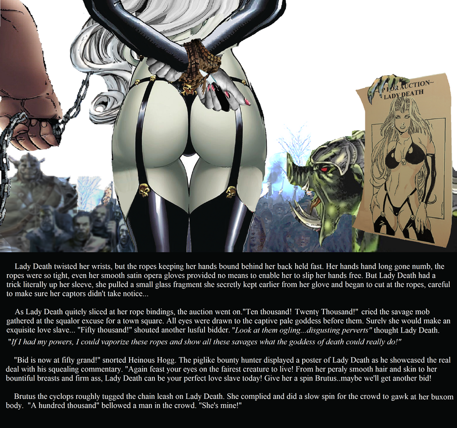 Lady Death's Auction by Damselfiend