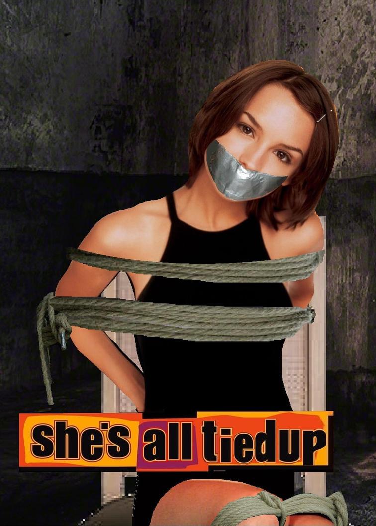 She's All Tied Up by Damselfiend