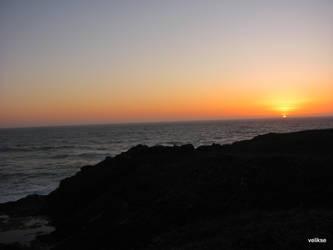 Ocean Sunset by velikse
