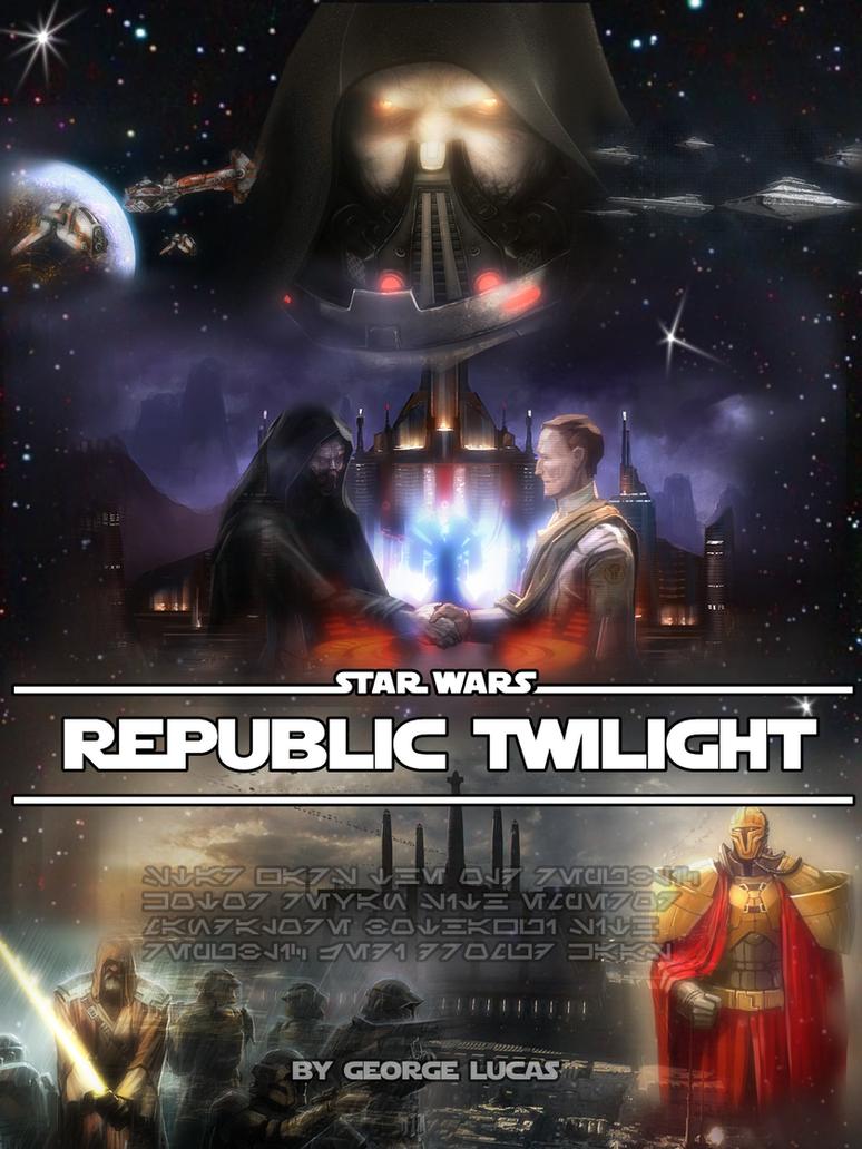 Republic Twilight poster by DarthDestruktor
