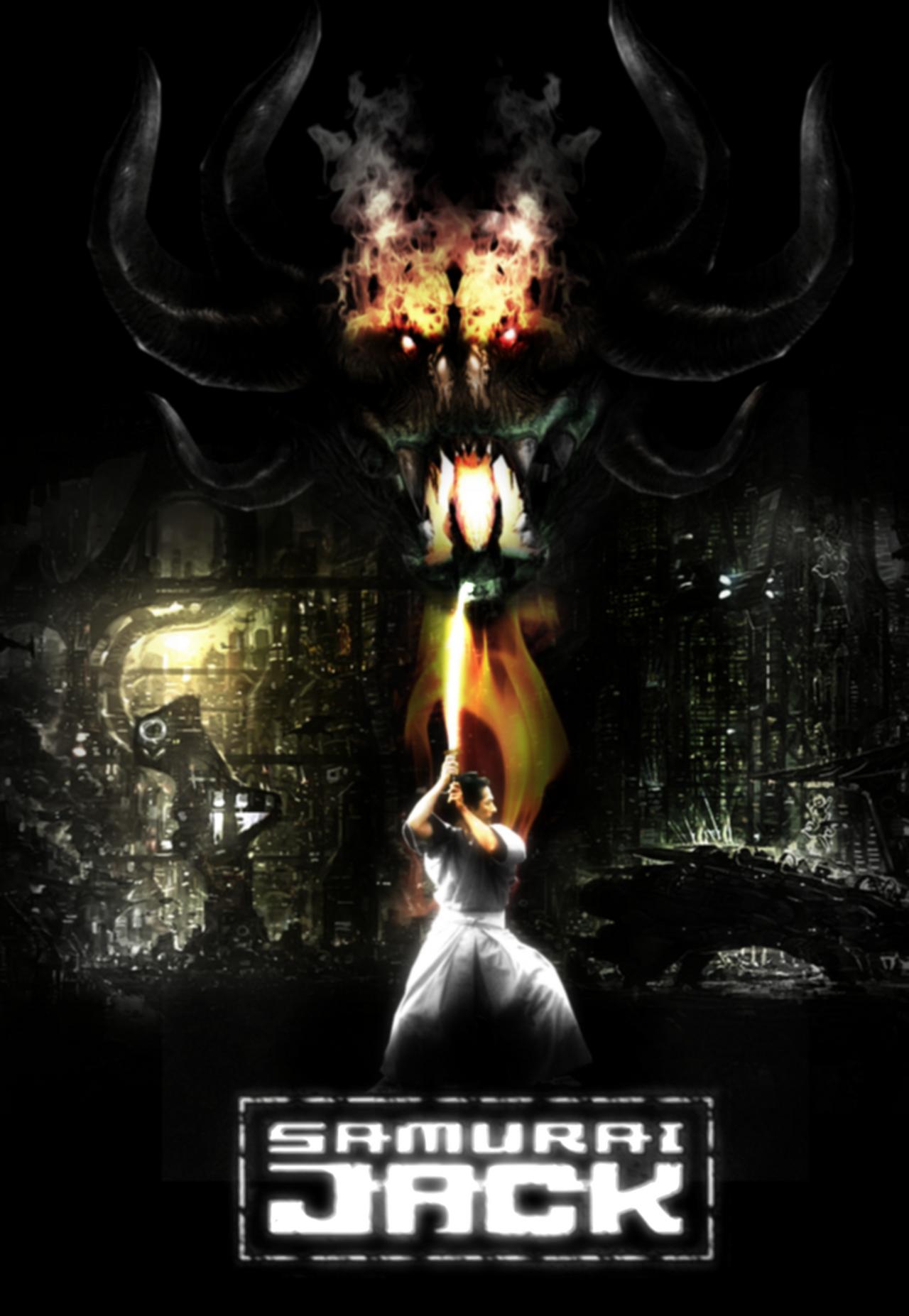 samurai jack movie poster by darthdestruktor on deviantart