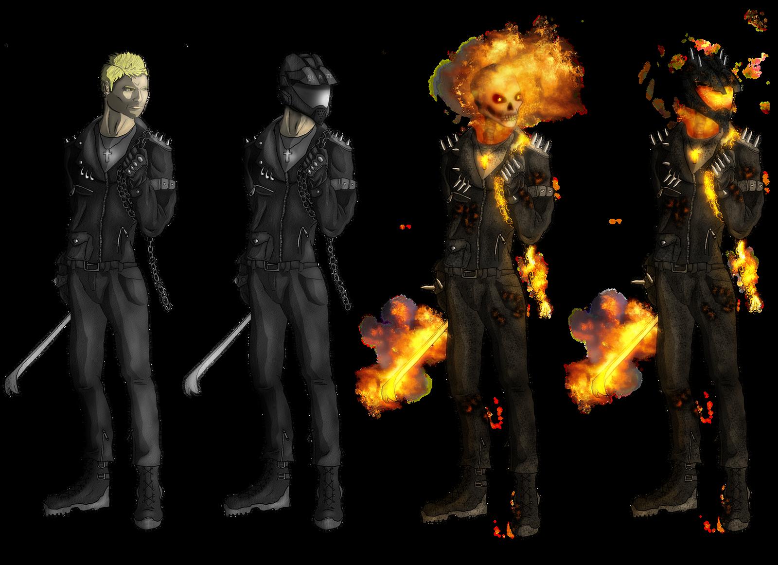 Ghost Rider Redesign By DarthDestruktor On DeviantArt