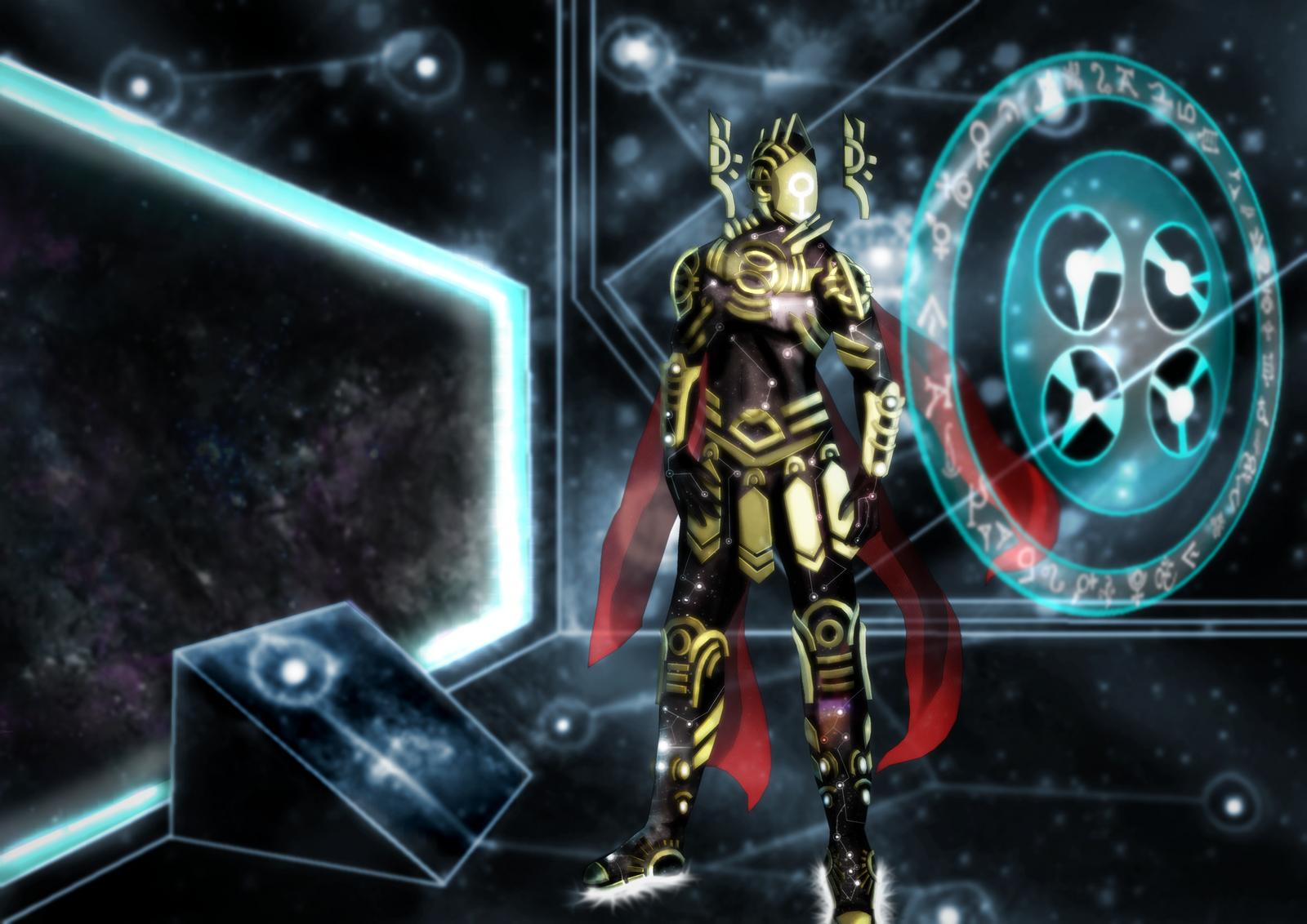 Ancient Astronaut by DarthDestruktor on DeviantArt