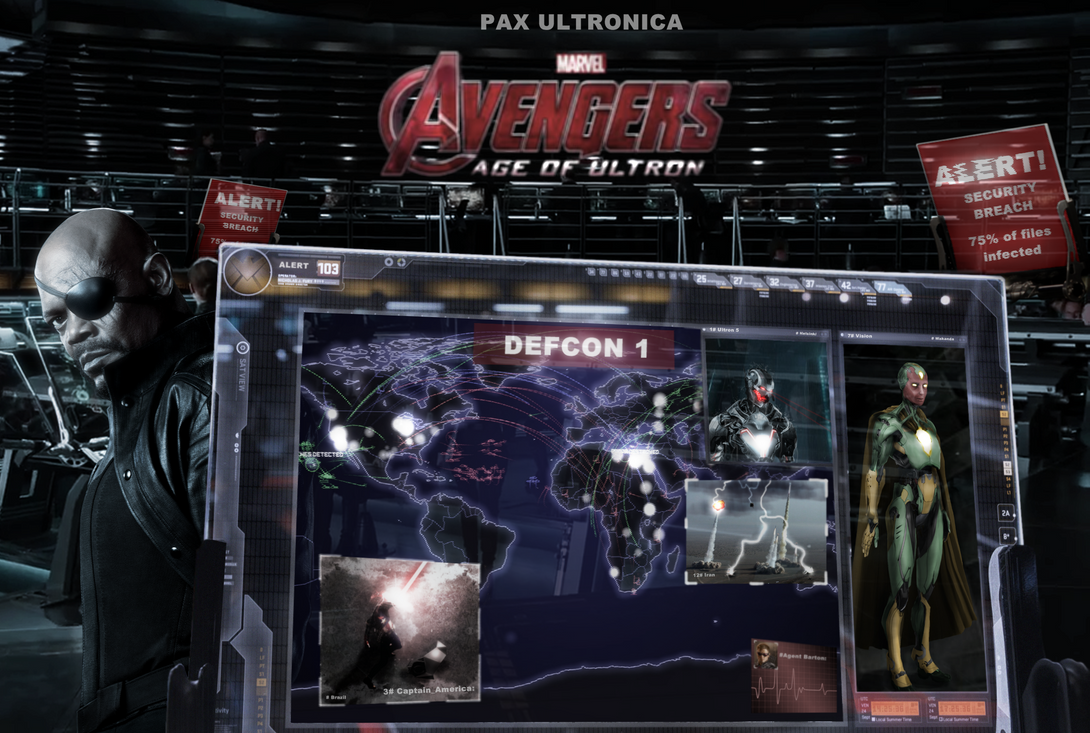 Avengers Age Of Ultron By Iloegbunam On Deviantart: Avengers: Age Of Ultron Poster By DarthDestruktor On