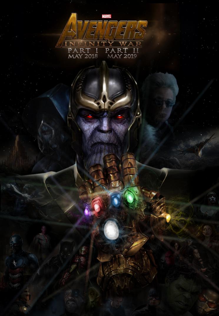 AVENGERS 3: Infinity War fan made poster by DarthDestruktor