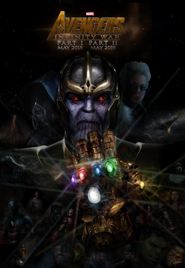 AVENGERS 3: Infinity War fan made poster by ...