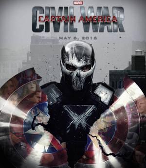 Captain America: Civil War fan-made poster