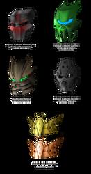 Noble Kanohi designs 2