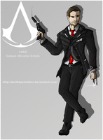Assassin's Creed: Cold War secret agent by DarthDestruktor