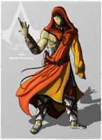 Assassin's Creed: Shaolin monk by DarthDestruktor