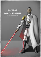 Emperor Darth Tyranus by DarthDestruktor