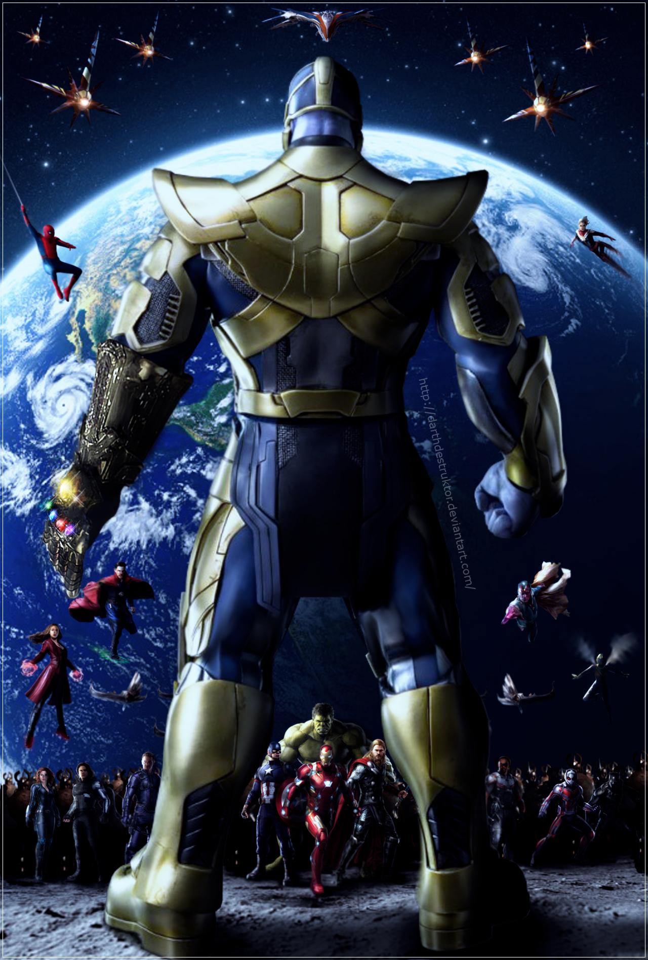 Infinity War Art Poster