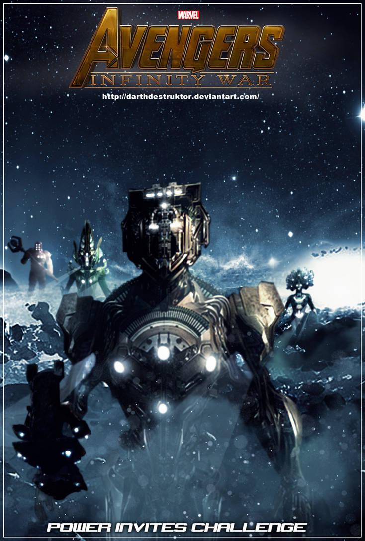 avengers infinity war fanmade poster 4