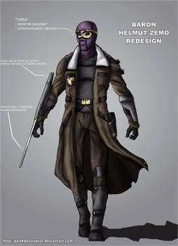 Baron Zemo redesign
