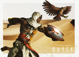 Assassin's Creed Origins Bayek by DarthDestruktor