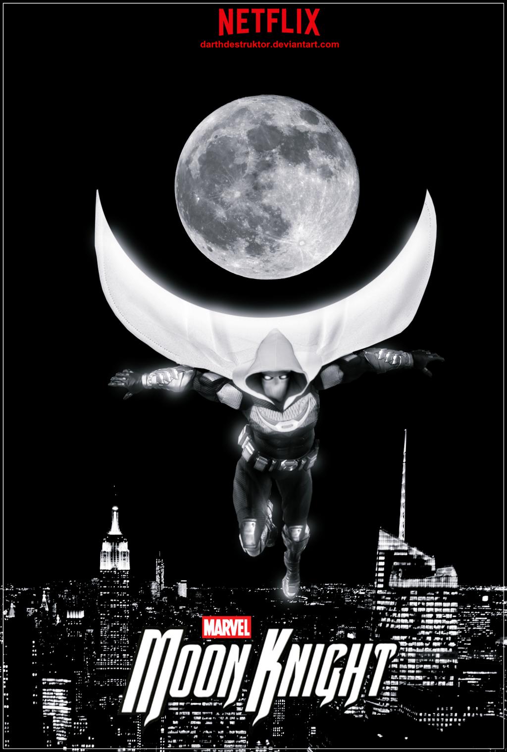 Moon Knight NETFLIX series fan made poster by DarthDestruktor on ...