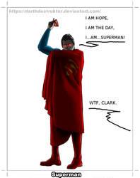 Quick work #8 - Superman
