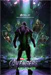 Avengers: Kang Dynasty fan made poster by DarthDestruktor