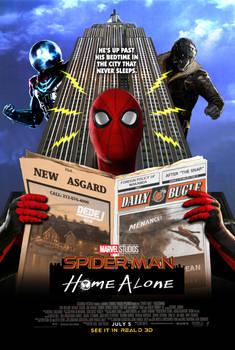 MCU Spider-Man poster parody