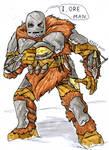 Prehistoric Iron Man