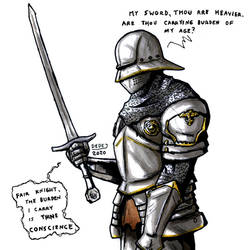 Knight with regret
