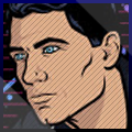 Sterling Archer xat icon 3 by SeanMercier