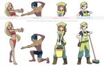 Pokemon XY trainer sprites ( II )