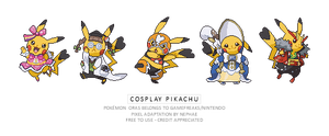 (POKEMON ORAS) cosplay pikachu by Nephae