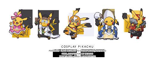 (POKEMON ORAS) cosplay pikachu