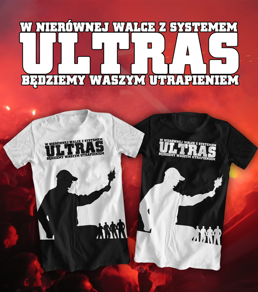 Design t shirt ultras - T Shirt Ultras Project By Cezik