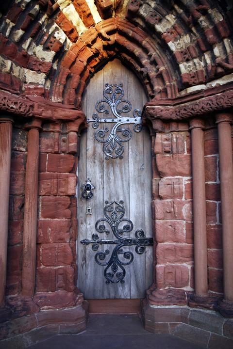 St Magnus Cathedral Door by xelf