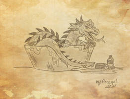 How to bathe your dragon by Crazyol