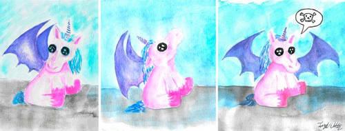 ponycorn wants sacrifice by princessixquic