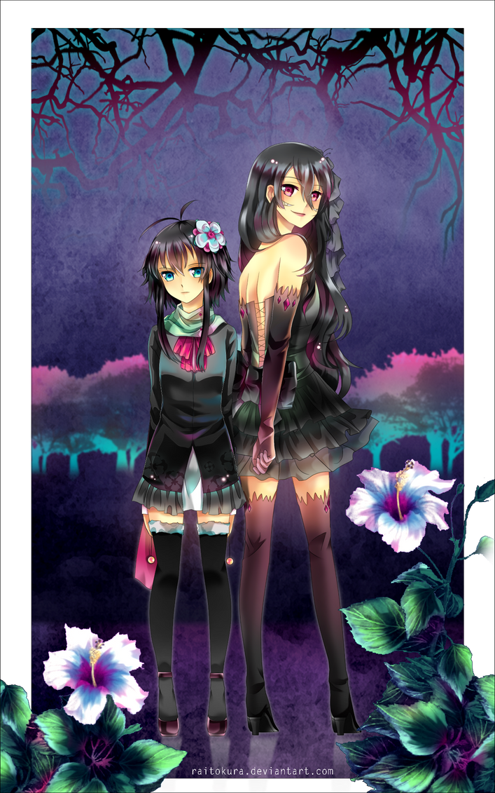 PC: Ruuka and Nemesis by raitokura