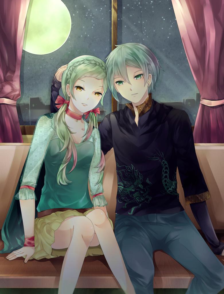 CR: Quin dan Caesar by raitokura