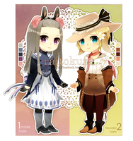 Hare Adopt Auction (CLOSED) by raitokura