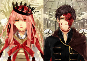 The Faceless King and Crownless Queen