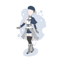 [CLOSED] - Outfit Adoptable #1 by Demifluff
