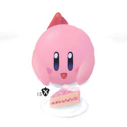 Kirby and CakeA