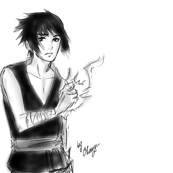 Sasuke by Erriem-sama
