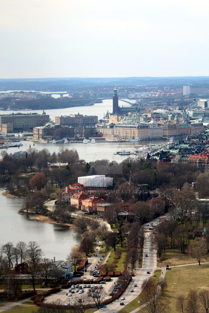 View over Stockholm by Sipramiili