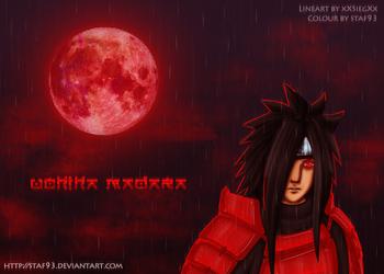 Naruto - Uchiha Madara by staf93