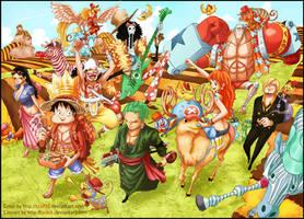 Mugiwara Crew + 2 years by staf93