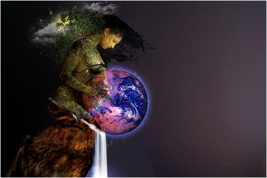 Gaia Healing Earth by SeanSean07