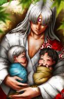 Sesshomaru - A bright future awaits for the twins