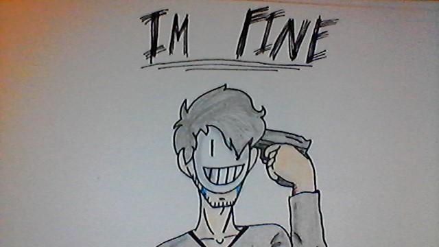 I'M FINE by JadeclawDehUmbreon