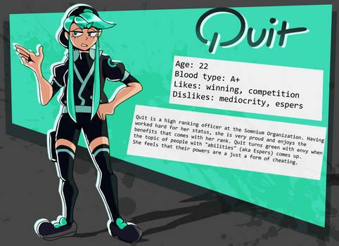 QUIT Profile