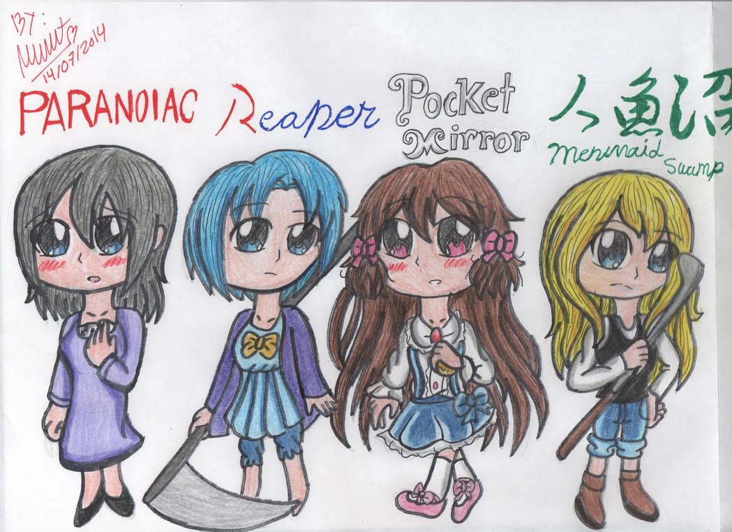 Horror Game Girls by FairyBlueSoul on DeviantArt