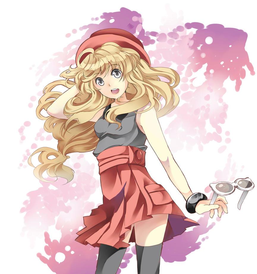 Serena Pokemon by Kazuyo49