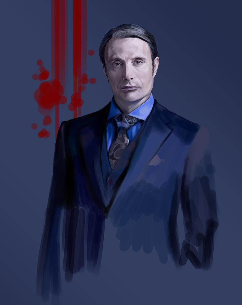 Dr Lecter WIP2 by szilviahart
